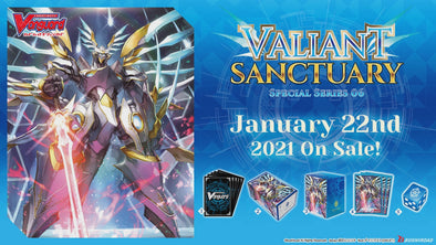 Cardfight!! Vanguard - V Special Series 06: DAIGO Special Expansion Set - Valiant Sanctuary (Pre-Order January 22, 2021) available at 401 Games Canada