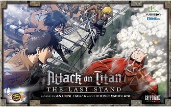 Attack on Titan - The Last Stand Board Game - 401 Games