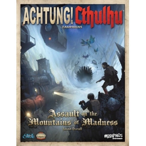 Buy Call of Cthulhu - Achtung! Cthulhu Crossover Series - Assault on the Mountains of Madness and more Great RPG Products at 401 Games