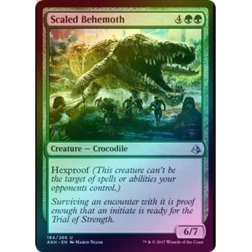 Scaled Behemoth (Foil) (AKH) available at 401 Games Canada