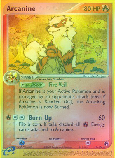 Arcanine - 15/100 - Reverse Foil (SST015R) available at 401 Games Canada