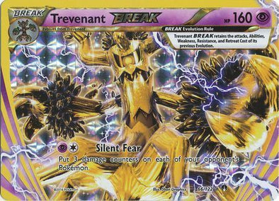 Buy Trevenant BREAK - 66/122 and more Great Pokemon Products at 401 Games