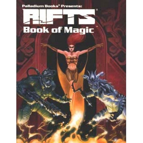 Buy Rifts - Book of Magic and more Great RPG Products at 401 Games