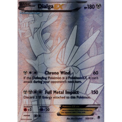Dialga EX - 122/119 - Secret Rare (PHF122) available at 401 Games Canada