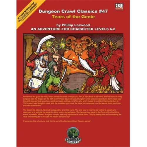 Dungeon Crawl Classics - #47 Tears of the Genie - 401 Games