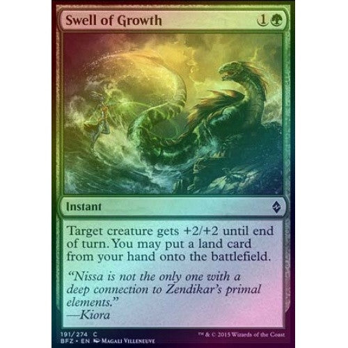 Swell of Growth (Foil) (BFZ) available at 401 Games Canada