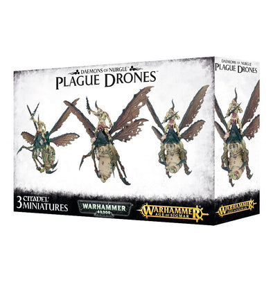 Buy Warhammer - Age of Sigmar - Daemons of Nurgle - Plague Drones and more Great Games Workshop Products at 401 Games