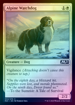 Alpine Watchdog (FOIL) (M21) (Pre-Order: 2020-07-03) - 401 Games