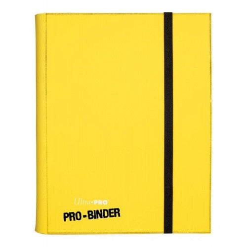 Buy Ultra Pro - Binder 9 Pocket - Sideloading - Yellow and more Great Sleeves & Supplies Products at 401 Games