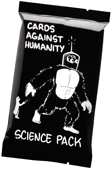 Cards Against Humanity - Science Pack available at 401 Games Canada