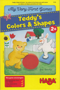 My Very First Games - Teddy's Colors & Shapes - 401 Games