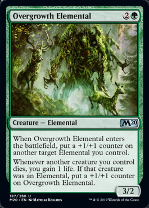 Overgrowth Elemental (M20) - 401 Games