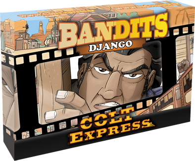 Colt Express - Bandit Pack - Django Expansion - 401 Games