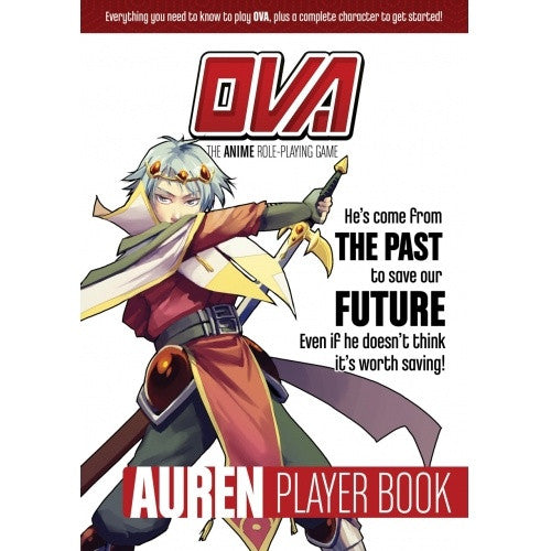 OVA: The Anime Role Playing Game - Auren Player Book (CLEARANCE) available at 401 Games Canada