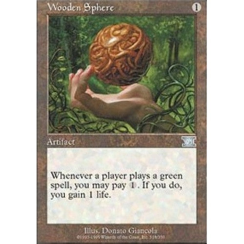 Wooden Sphere available at 401 Games Canada