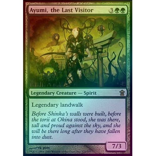 Ayumi, the Last Visitor (Foil) - 401 Games