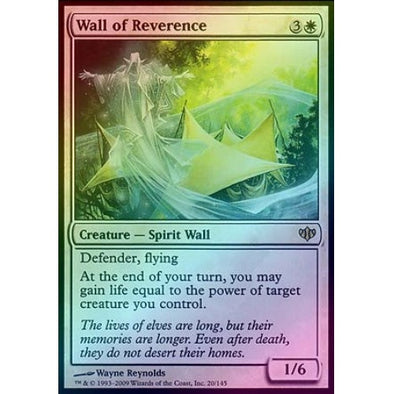 Wall of Reverence (Foil) (CON) available at 401 Games Canada