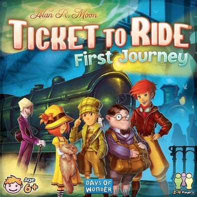 Buy Ticket to Ride - First Journey and more Great Board Games Products at 401 Games
