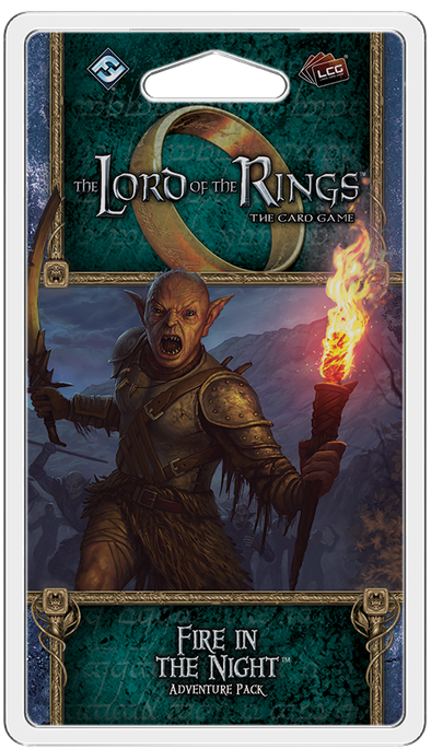 Lord of the RIngs Living Card Game - Fire in the Night
