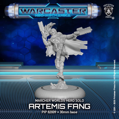 Warcaster - Neo-Mechanika - Marcher Worlds - Artemis Fang - 401 Games