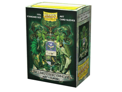 Dragon Shield - 100ct Standard Size - Art - King Mothar Vangard