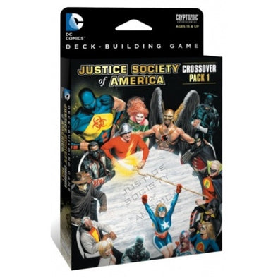 DC Comics Deck Building Game - Crossover Pack #1 - Justice Society of America - 401 Games