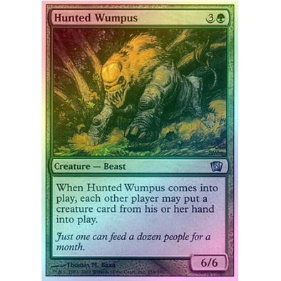 Hunted Wumpus (Foil) available at 401 Games Canada
