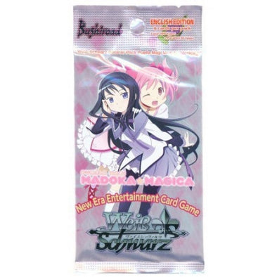 Buy Weiss Schwarz - Madoka Magica - English Booster Pack and more Great Weiss Schwarz Products at 401 Games