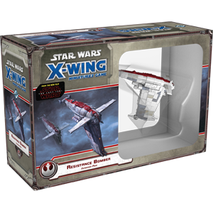 Buy X-Wing - Star Wars Miniature Game - Resistance Bomber and more Great Board Games Products at 401 Games