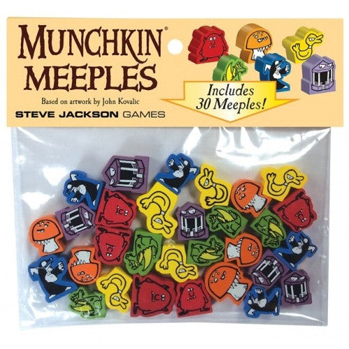 Munchkin Meeples available at 401 Games Canada