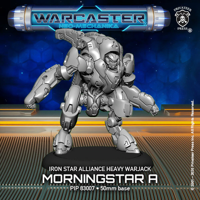 Warcaster - Neo-Mechanika - Iron Star Alliance - Morningstar (Variant A) - 401 Games
