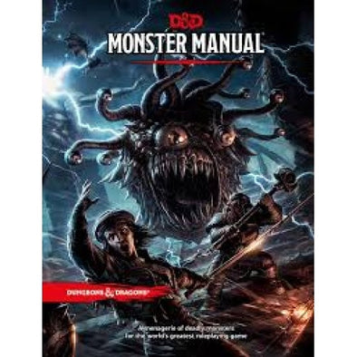 Dungeons and Dragons 5th Edition - Monster Manual - 401 Games