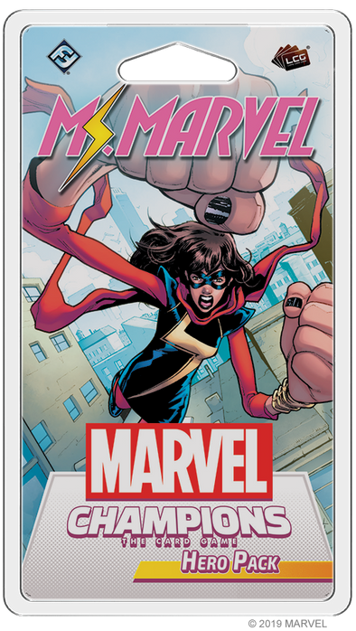 Marvel Champions - Living Card Game - Ms Marvel Hero available at 401 Games Canada