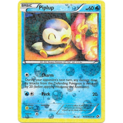 Buy Piplup - RC6/RC25 and more Great Pokemon Products at 401 Games