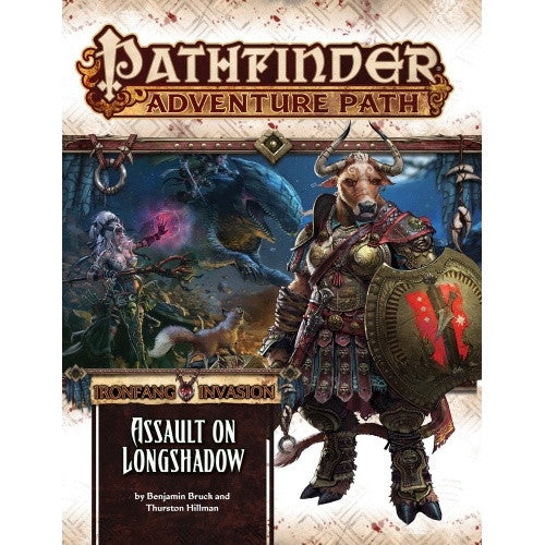 Buy Pathfinder - Adventure Path - #117:Assault on Longshadow (Ironfang Invasion 3 of 6) and more Great RPG Products at 401 Games