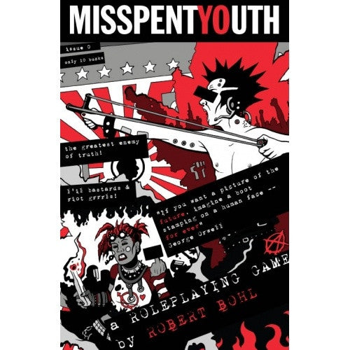 Misspent Youth - Core Rulebook - 401 Games