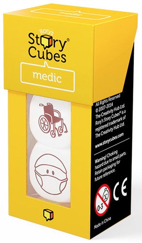 Buy Rory's Story Cubes - Medic and more Great Board Games Products at 401 Games