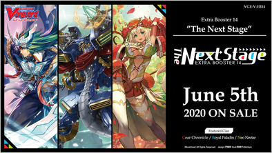 Cardfight!! Vanguard - V Extra Booster 14: The Next Stage Booster Box (Pre-Order June 5, 2020)