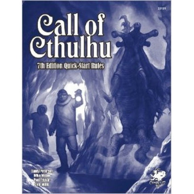 Call of Cthulhu - 7th Edition - Quickstart Rules available at 401 Games Canada