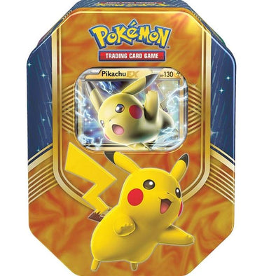 Pokemon - Battle Heart Tin - Pikachu EX available at 401 Games Canada