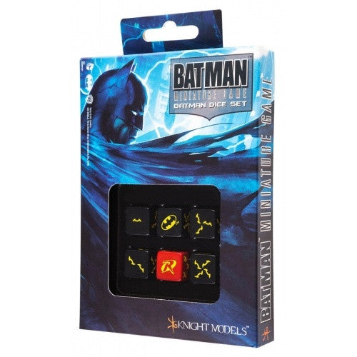 Buy Dice Set - Q-Workshop - 6D6 - Batman and more Great Dice Products at 401 Games