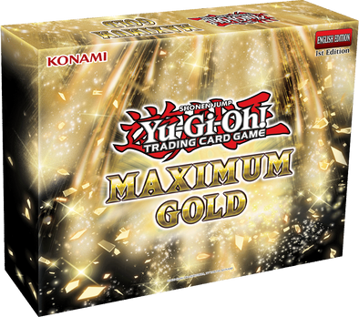 Yugioh - Maximum Gold available at 401 Games Canada