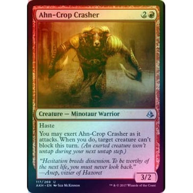 Ahn-Crop Crasher (Foil) (AKH) available at 401 Games Canada