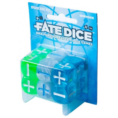 Buy Fate Dice - Dice Set - Atomic Robo and more Great Dice Products at 401 Games