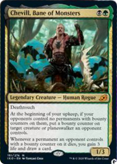 Cevill, Bane of Monsters (IKO) (Pre-Order: 2020-05-15)