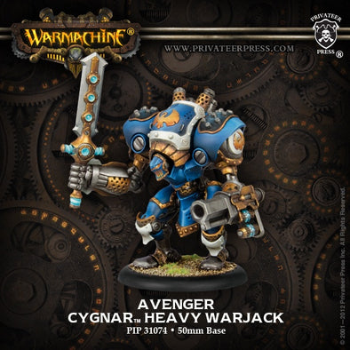 Buy Warmachine - Cygnar - Avenger and more Great Tabletop Wargames Products at 401 Games