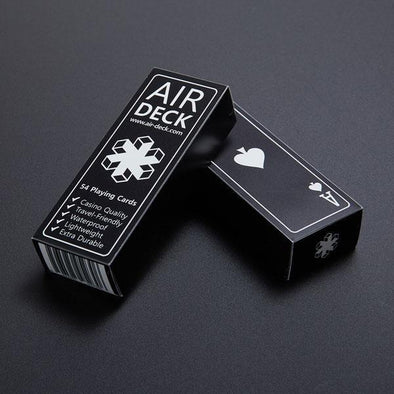 Air Deck - Travel Playing Cards - Black - 401 Games