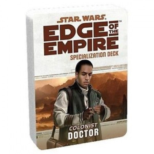 Star Wars: Edge of the Empire - Specialization Deck - Colonist Doctor