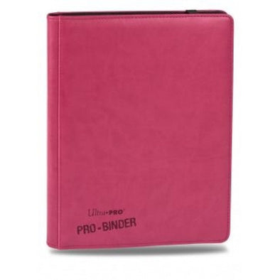 Buy Ultra Pro - Premium Pro Binder- Pink Leatherette and more Great Sleeves & Supplies Products at 401 Games