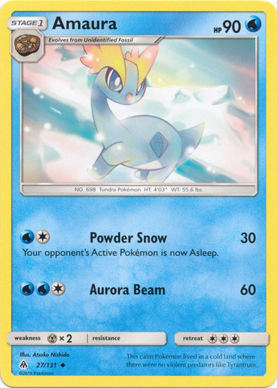 Buy Amaura - 27/131 and more Great Pokemon Products at 401 Games